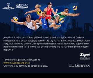 29.5. – 2.6.2019 Beachvolejbalová fanzóna