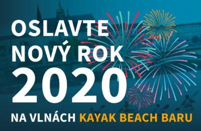 Oslavte Nový rok 2020 na Kayak Beach Baru
