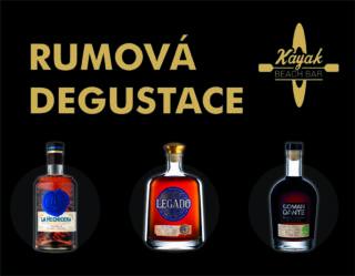 Rumová degustace