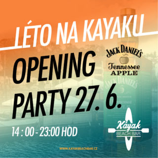 OPENING PARTY 27.6.2020