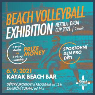 NEKOLA DRDA CUP 2021 – BEACH VOLLEYBALL EXHIBITION 6.9.2021